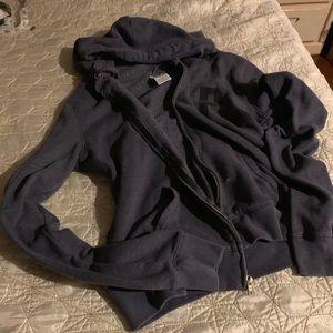 PINK - hoodie sweatshirt jacket size small